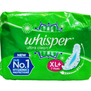 Whisper Ultra Clean XL Sanitary pad- 7pc