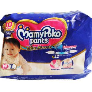 Mammy Poko M-7Pcs Kids Diapers