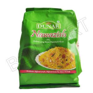 NAWAZISH Basmati Rice 1 kg- XXL Long Grain