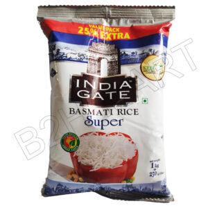 India Gate Basmati Super Rice- 1 kg