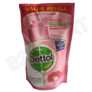 Dettol Refill Germ Protection Liquid Soap – 175ml(Pink)