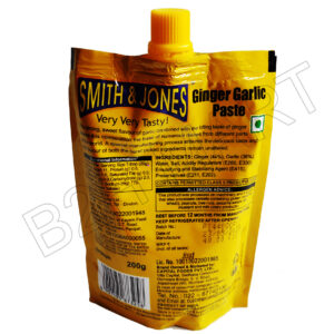 Smith & Jones Ginger Garlic Paste 200g