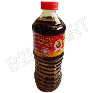 SALONI MUSTARD OIL Kachchi Ghani 500g,1kg, 5kg
