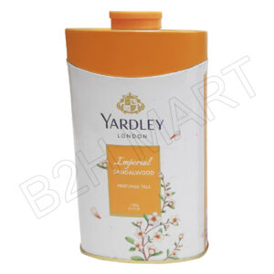 Yardley London Imperial Sandalwood Talc- 100 g (Yellow)