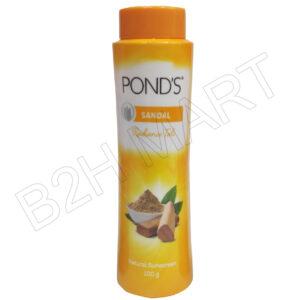 Pond's Sandalwood Talcum Powder- 100g (Yellow)