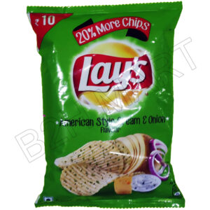 American Style Cream and Onion Lays Chips