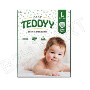 Easy Teddy Diapers (L) – 52pcs.