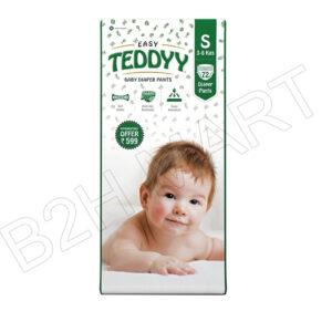 Easy Teddy Diapers (S) – 72pcs.