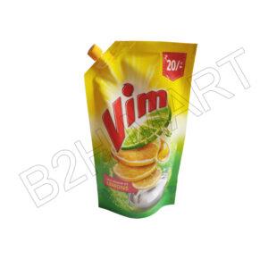 Vim Dishwash Liquid Refill pouch -155 ml