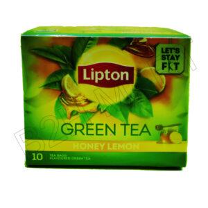 LIPTON Green Tea Lemon and Honey – 10 bags