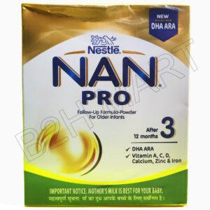 Nestle NAN PRO Infant Powder 3 – 400 gm