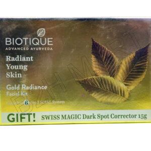 Biotique Gold Radiance Facial Kit – 1qty