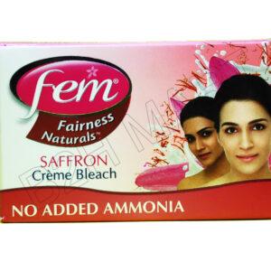 Fem Creme Bleach(Saffron) – 24gm