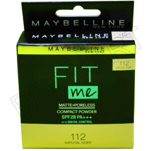 Maybelline Fit Me Compact Powder (Shade-112 Ivory)